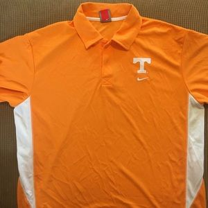 University Tennessee polo size XL by Nike